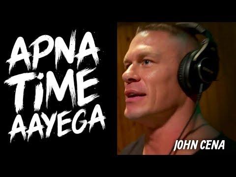 "John Cena Singing ""Apna Time Aayega"" | Gully Boy Spoof Ft: John Cena"