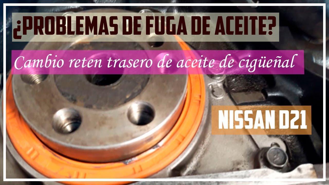 Cambio De Reten De Aceite De Ciguenal Nissan D21 Ka24e