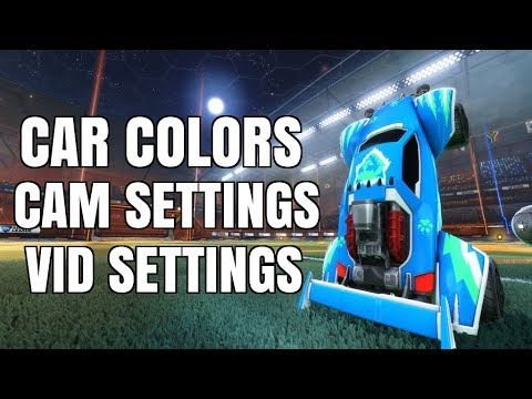Squishy Muffinz Song : ALL MY IN GAME SETTINGS + CAR COLORS (CAM SETTINGS AND VIDEO SETTINGS) - YouTube
