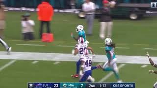 Jakeem Grant 101 YD Kick Return | Dolphins Vs Bills Week 11 Highlights | #NFL