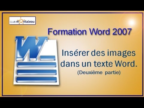creer un logo sur word 2007