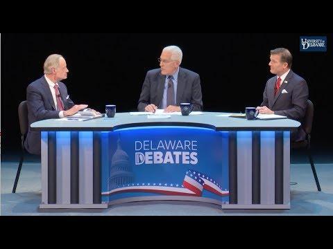 Delaware Debates 2018 U.S. Senate Debate