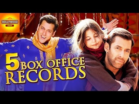 Salman khan 39 s 5 box office records in 2015 bajrangi bhaijaan prdp youtube - Box office bollywood records ...