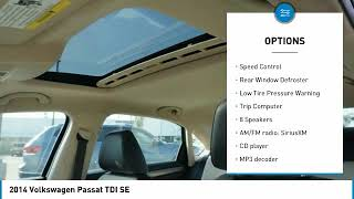 2014 Volkswagen Passat 2014 Volkswagen Passat TDI SE FOR SALE in Bakersfield, CA U1462