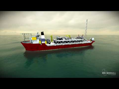 Underwater hull repair by M-ROV