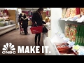 Cash Diet: Creating A Tight Budget For Grocery Shopping | Week 2 | CNBC Make It.