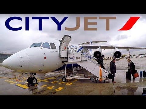 FLIGHT REPORT / CITYJET AVRO RJ85 / CLERMONT FERRAND - PARIS
