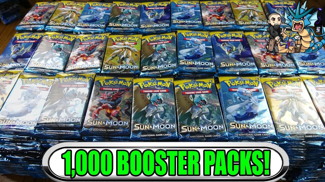 Pokemon sun & moon pack