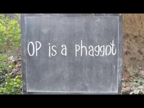 OP is a phaggot