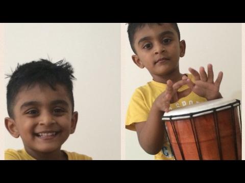 Aavi Parakkum Teakadai   Rajinimurugan   3 Year Old Boy Singing