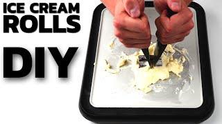 Ice Cream Rolls | Do It Yourself Ice Cream Rolls - DIY with KitKat, Twix and Bounty Ice Cream Rolls