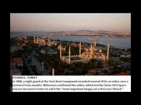 Extraterrestrial thrill: 19 UFO hot spots around the world