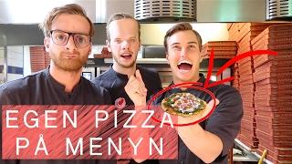 JLC → Får egen PIZZA på menyn