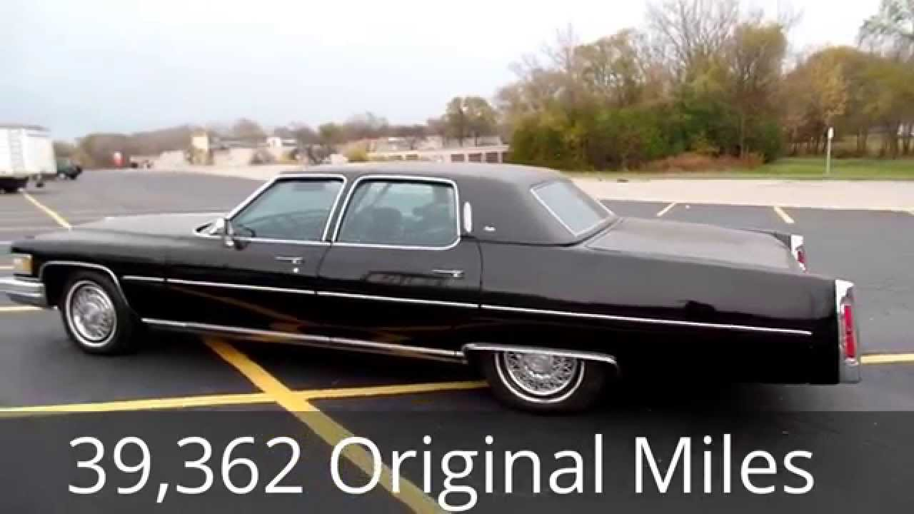 classic youtube cadillac cars watch miles for shore low brougham fleetwood sale north