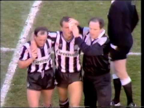 Newcastle United v West Ham 30th November 1986