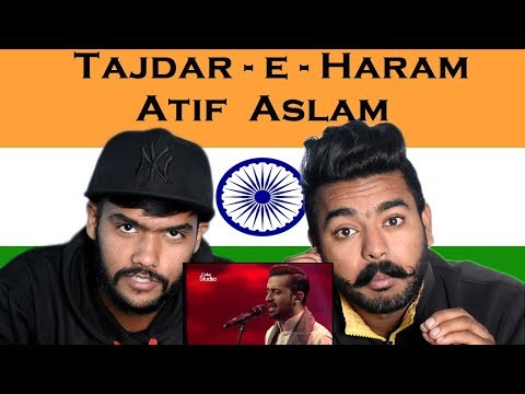 Indian react on Tajdar-e-Haram | Atif Aslam | Swaggy D reaction |Coke Studio