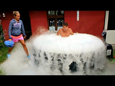 What Happens If You Drop 30 Lb Of Dry Ice In Pool Doovi