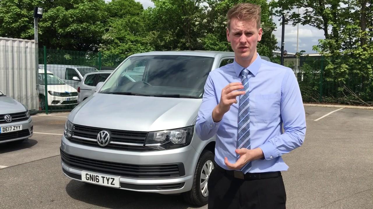 VW Transporter Trendline T6 For Sale At Volkswagen Van Centre Liverpool