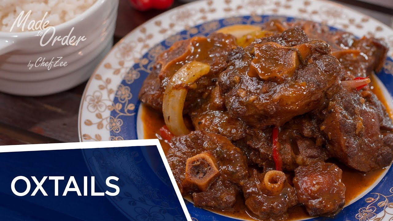 Download Oxtail Stew | Rabo Encendido | Made To Order | Chef Zee Cooks