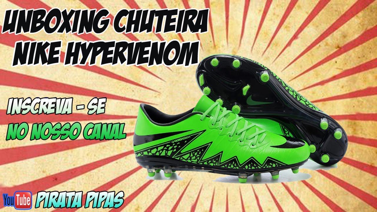 Unboxing - Chuteira Hypervenom phelon - Netshoes - YouTube b885e56750347