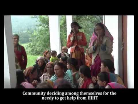 HIHT- Disaster Relief Work 2013