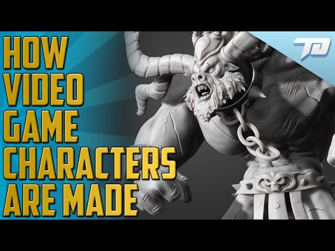 How Video Game Characters Are Made (FULL PROCESS)