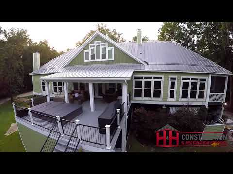 Craft Creek Photography Drone H&H Construction Deck, Patio and Dock