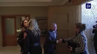 جلالة الملك وجلالة الملكة يستقبلان ملكة هولندا (12-2-2019)