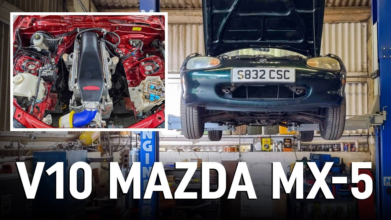Download Preparing our Mazda MX-5 for its V10 engine