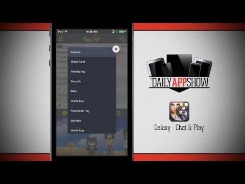 Galaxy Chat  App Demo - DailyAppShow