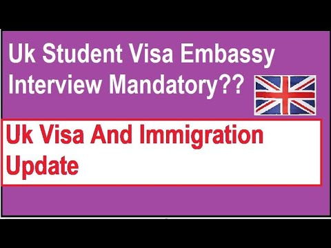 Uk Student Visa Embassy Interview Mandatory? | Uk Jan Intake 2021 | Uk Visa And Immigration Update