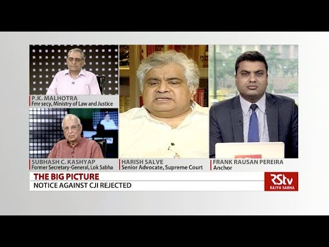 The Big Picture  Notice Against CJI Rejected