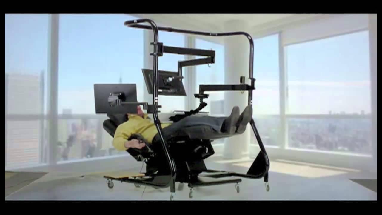 Zero Gravity Workstation 4 By Ergoquest Youtube