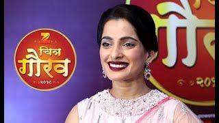 Priya Bapat At Zee Chitra Gaurav Puraskar 2018 | Chillx Marathi