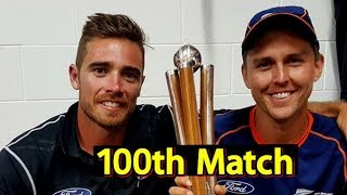 100th Partnership For Trent Boult & Tim Southee | Sports Tak