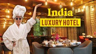 5-STAR LUXURY HOTEL IN INDIA ★ Buffet Tour, Spa, Fine Dining & More!