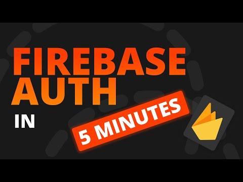 Flutter Firebase Setup in 5 minutes