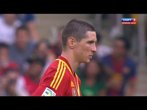 Fernando Torres vs Tahiti Confederations Cup 2013