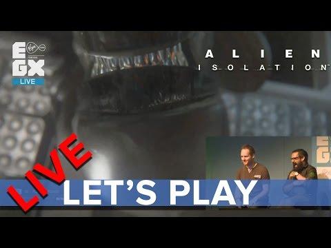 Alien: Isolation - Eurogamer Let's Play LIVE - EGX 2014