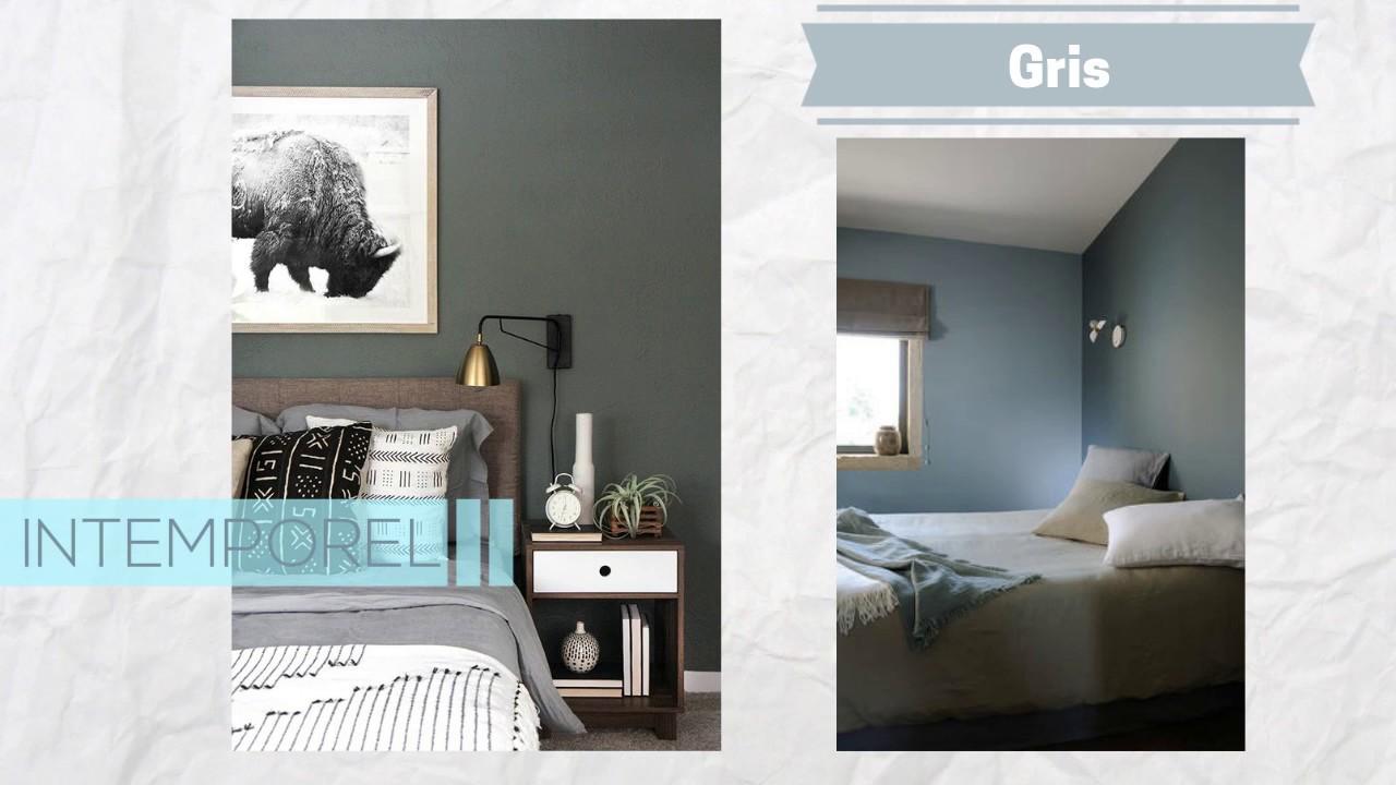 Peinture chambre : quelle couleur choisir ? Découvrez 5 coloris tendances !