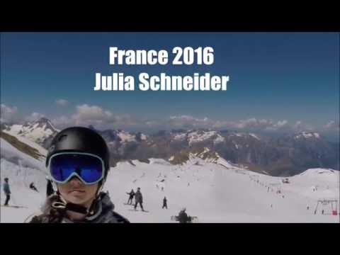 Julia Schneider, France summer of 2016 edit