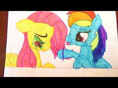 Мои рисунки май литтл пони (My Little Pony)