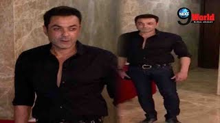 Bobby Deol Spotted at The Birthday Party of Ramesh Torani |