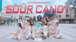 Download Mp3  Dance In Public | 1take  Lady Gaga, Blackpink - Sour Candy | Blackchuck Choreog