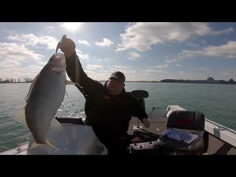 DETROIT RIVER FISHING MARCH 10, 2020