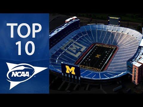 Top 10 Biggest NCAA Football Stadiums
