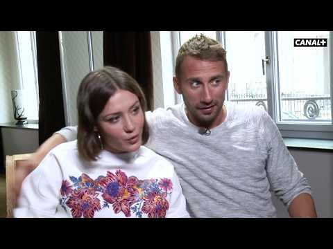 Le fidele avec Adele Exarchopoulos et Matthias Schoenaerts  Coulisses emission cinema