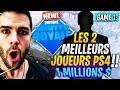 TOURNOI: LES 2 VRAIS MEILLEURS JOUEURS PS4 DÉTRUISENT LES PC WINTER ROYALE GAME 1 FORTNITE Saison 7