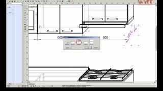 Урок: проставить размеры на проектах PRO100.