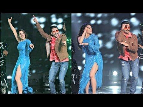 Sara Ali Khan And Ranveer Singh Dance On Sa Re Ga Ma Pa Set - Simmba Promotion